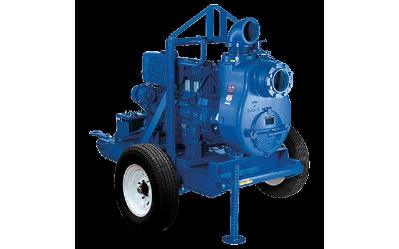 Self-Priming Pumps- 10 SERIES® (ENGINE DRIVEN) (MÁY BƠM CHỐNG NGẬP ÚNG KIỂU DÃ CHIẾN (HOẶC KIỂU DI ĐỘNG)