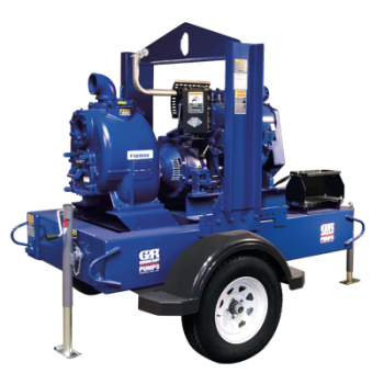 Self-Priming Pumps- SUPER T SERIES® (ENGINE DRIVEN) (MÁY BƠM CHỐNG NGẬP ÚNG KIỂU DÃ CHIẾN (HOẶC KIỂU DI ĐỘNG))