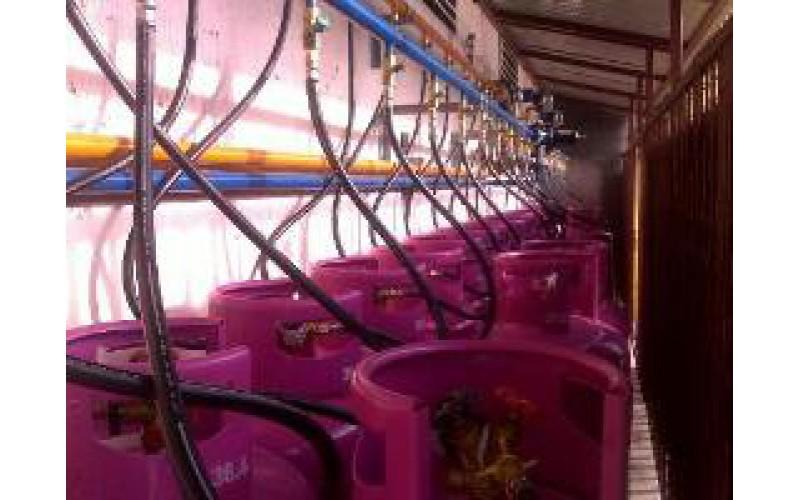 Xây dựng hệ thống gas cho khách sạn